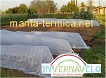 La manta térmica también puede usarse para la construcción de túneles agrícolas o